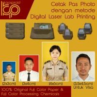Harga cetak pas foto pas photo foto visa fuji color paper 2x3 3x4 | Pembandingharga.com