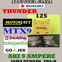 Dijual Spare Part Motor Aki Gel Kering SUZUKI THUNDER 125 Moto Murah