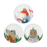 [Get 3 pcs] ZEN Animal Drinking Series (Bear, Elephant, Fox)