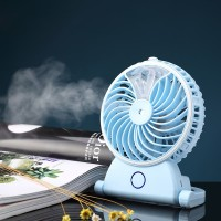 Kipas Angin Air Embun USB Rechargeable Mini Fan Portable