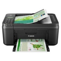 Printer Canon all-in-one print scan copy fax MX497 + PLUS INFUS Kmp:10