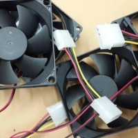 Fan Case Casing 12Cm 12 cm Hitam Standart Kipas Komputer Cpu pendingin