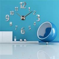 PREMIUM Jam Dinding 3D DIY Giant Wall Clock 100cm Diameter 24b713f657