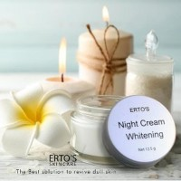 BEST SELLER Ertos Night Cream Whitening Original SALE