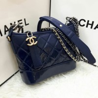 PRODUCT ORIGINAL TAS CHANEL GABRIELLE NAVY BLUE MINI MIRROR QUALITY 367a47dac3