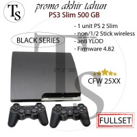 Sony PS3 slim Cfw 500Gb - PS3 500 GB + 2 stick wireless
