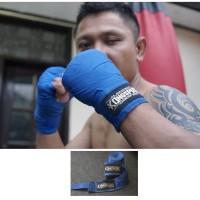 Kongspro Semi Elastic Boxing Muay Thai Hand Wrap - Ryl Blue 4,5 Meter