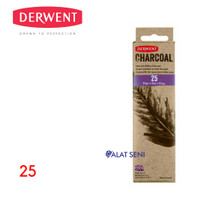 DERWENT Willow Charcoal Thin (25) / Charcoal Pencil - Pensil Derwent