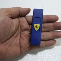 korek api elektrik USB lighter model logo Ferrari