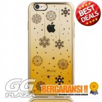 Remax Diamond Snowflake Series TPU Protective Soft Case`454T3T- Golden
