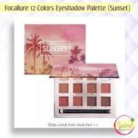 FOCALLURE 12 Colors Eyeshadow Palette (#1 Sunset)