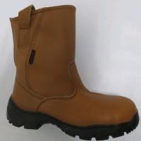 Steel Horse Sepatu Safety 9599 Brown no 5