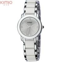 Original Wanita quartz jam tangan lady gelang jam tangan KIMIO merek