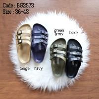 Sandal jelly unisex ringan enteng - Redapple BG2573