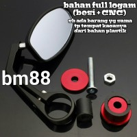 Spion Jalu Full Besi CNC - Bar End Mirror