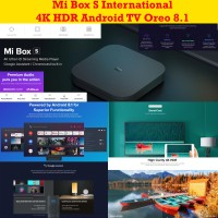 Xiaomi MiBox Mi Box S Mi Box 4 Internasional Android TV MDZ-22-AB
