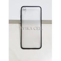 Case Pop Fuze Vivo V11 Pro Transparan Hard Fiber Mika Softcase