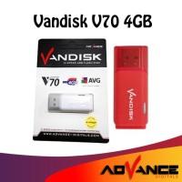 Flashdisk 4GB Flash Disk Vandisk V70 Advance