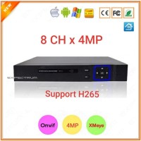 NVR 8 CHANNEL - XMeye Support ONVIF, P2P, 1080P FUll HD
