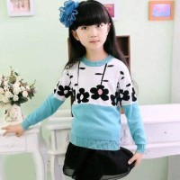 Flower Kids- baju anak - fashion anak - sweater anak - baju rajut