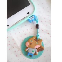 Dust Pluggy murah / Plugin tutup earphone Hp Korea Murah 23.45