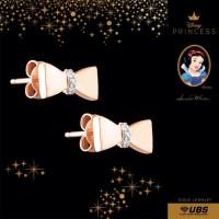 UBS DISNEY PRINCESS SNOW WHITE GOLD EARRING - CWY0006-1