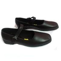 Sepatu Pantofel Paskibra Wanita Bertali /Sepatu Sekolah Wanita - Black