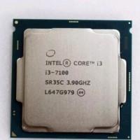 Processor Intel Core i3 7100 3.90 GHz Tray with Fan Original LGA 1151