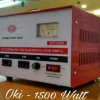 Promo Stabilizer /stavol Regulator Listrik OKI 1500 watt Stabilizer