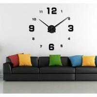 Jam Dinding Besar   DIY Giant Wall Clock 80-130cm Diameter ELET00660 085a6b4fd3