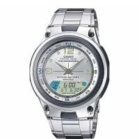 Casio Standard Jam Tangan Pria - Silver AW-82D-7AVDF