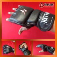 MMA Gloves, Sarung Tangan MMA (Black MMA Glove Strikes)