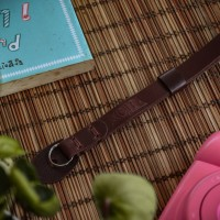hand strap camera / wrist strap / tali kamera / leather strap camera