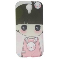 Painting Phone Plastic Case For Samsung Galaxy S4 C43