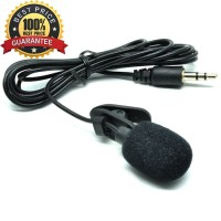 Paket Mic Clip On / Lavarier + Audio Splitter - Murah Berkualitas