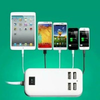 Adaptor Charger Usb 4port 15W For Samsung Iphone Asus Xiaomi Asus Oppo