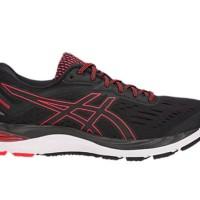 [Oroginal] Sepatu Running ASICS GEL-CUMULUS 20 Black/Red Alert