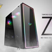 PRIME Z-[X] - PREMIUM GAMING CASE 0.7mm STEEL - 3PCS RAINBOW FLOWING