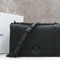 Diiorama Ultra Black In Calfskin Shoulder Bag   Tas Pesta Branded 0ecdd5a847