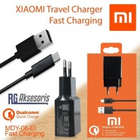 Charger Xiaomi Original 100% QUALCOMM 3.0 Fast Charging MDY-08-EI
