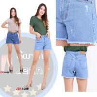 Celana Pendek Hotpants 2/3 Jeans Wanita Hotpants 2/3 Bawah Rum Murah