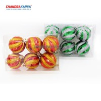 Set Ornamen Pohon Natal - 606 Boxed Ball