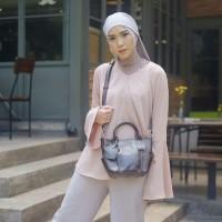 Handbag Kulit Wanita Lestari Dark Brown