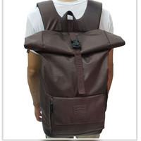 Jual BADILAHSHOPZ Backpack Rolltop Kekinian | Rolltop air bone | Tas Murah