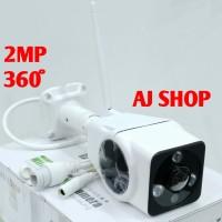 CCTV IP CAM FISHEYE 360 2MP OUTDOOR WIFI WIRELESS FULL HD 1080 V380