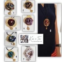 Harga kalung tali bunga batik | Pembandingharga.com