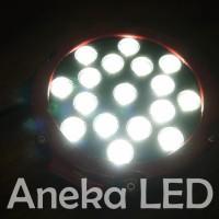 KUALITAS TERBAIK Work Lamp (Lampu Kerja) / Off Road 51W Putih (10-60V)