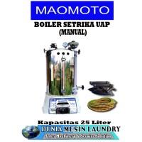Jual Steam Boiler Setrika Uap Merk Maomoto Kapasitas 25 liter