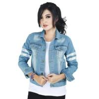 Jual Jaket Jeans   Denim Wanita Model Terbaru 2018 - Harga Terbaik ... 4920e9b6f6