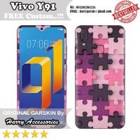 Original Garskin Vivo Y91 Motif Puzle -Free Custom Gambar